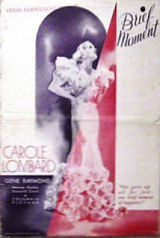 carole lombard brief moment pressbook small 00a