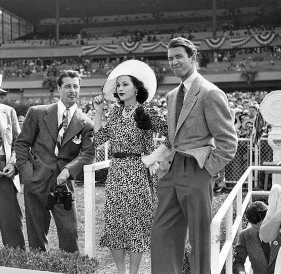 hollywood park don ameche hedy lamarr james stewart 1940b
