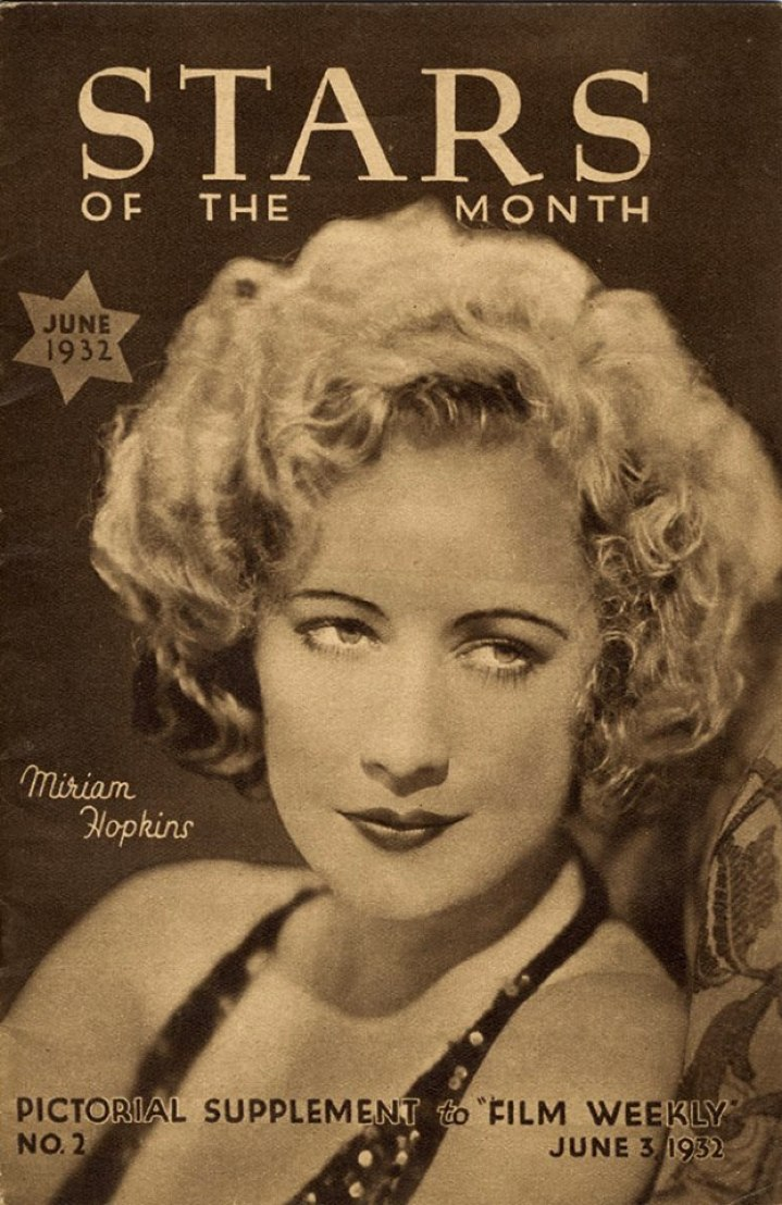 film weekly stars of the month june 1932 cover large