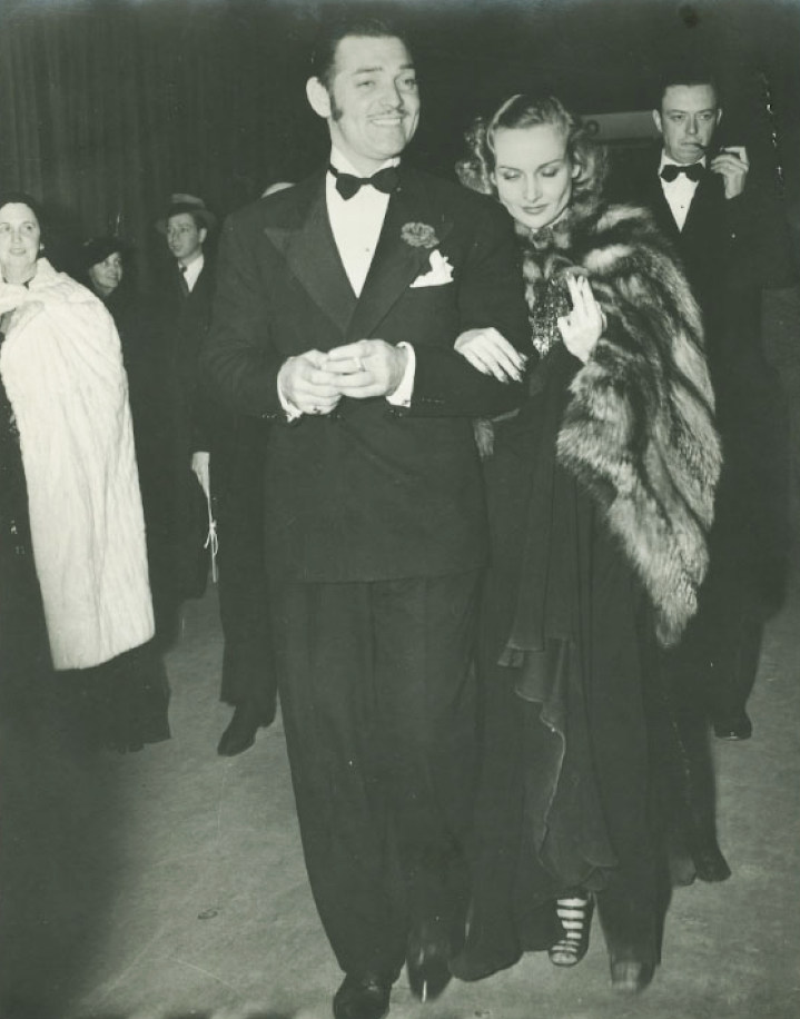 carole lombard clark gable 1937a adolph zukor event front