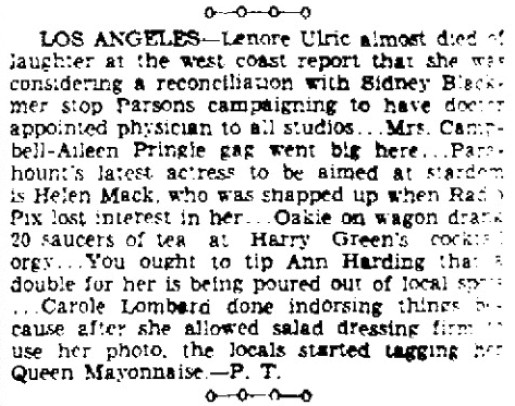 carole lombard 013134 wisconsin state journal