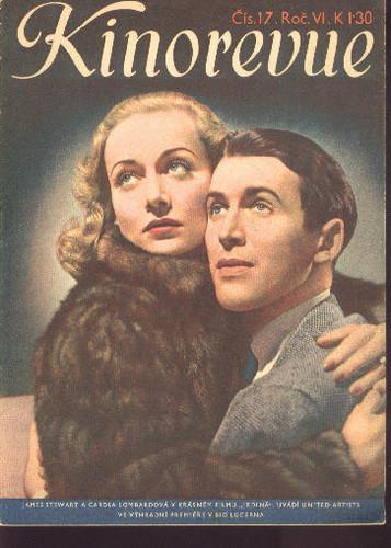 carole lombard kinorevue 1939 czechoslovakia