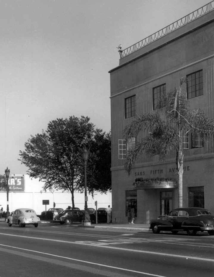 saks fifth avenue beverly hills early 1940sb