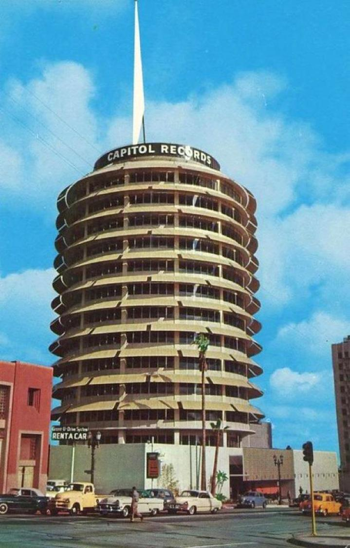 capitol records tower 25a