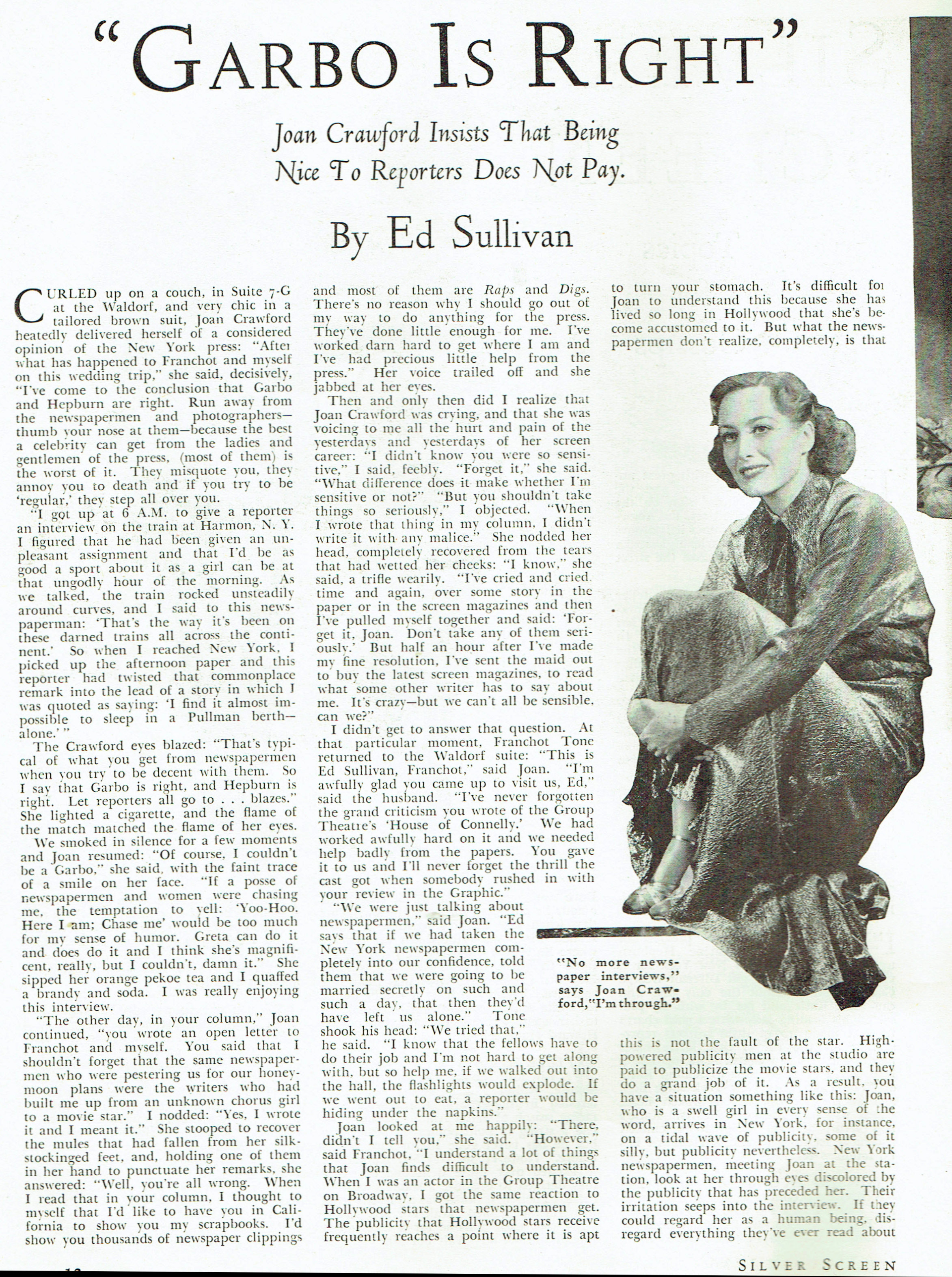 silver screen january 1936a