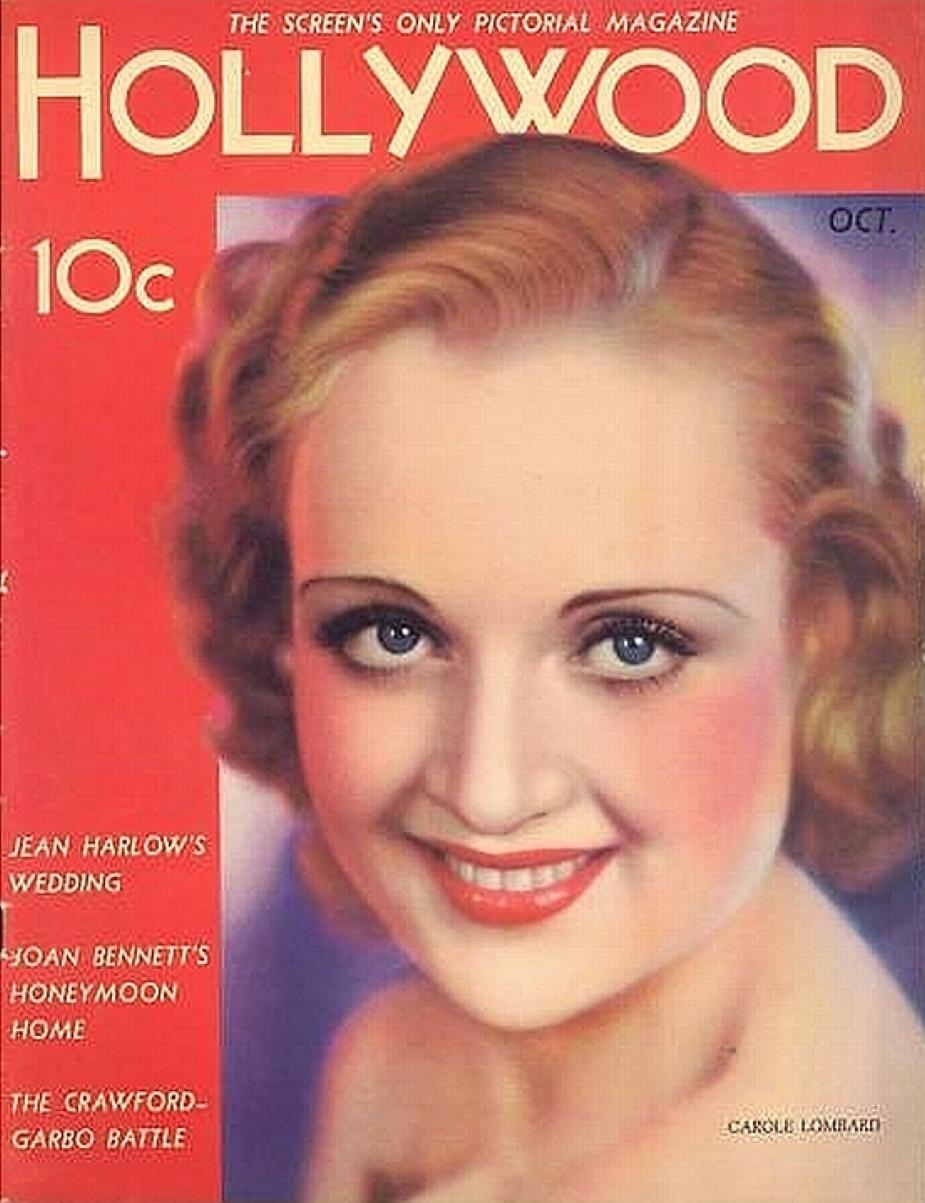 carole lombard hollywood october 1932 large