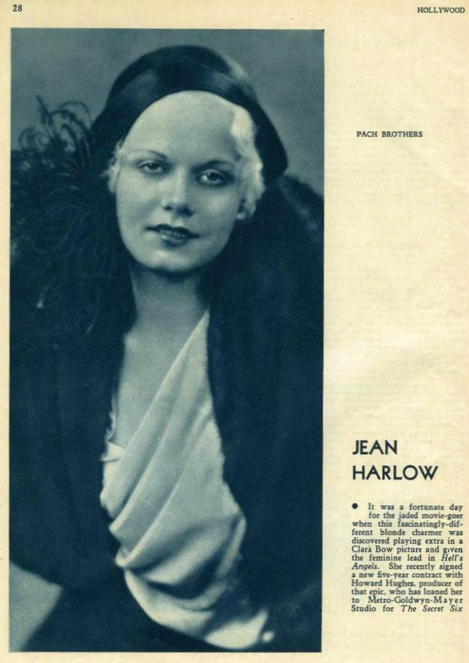 hollywood march 1931ea