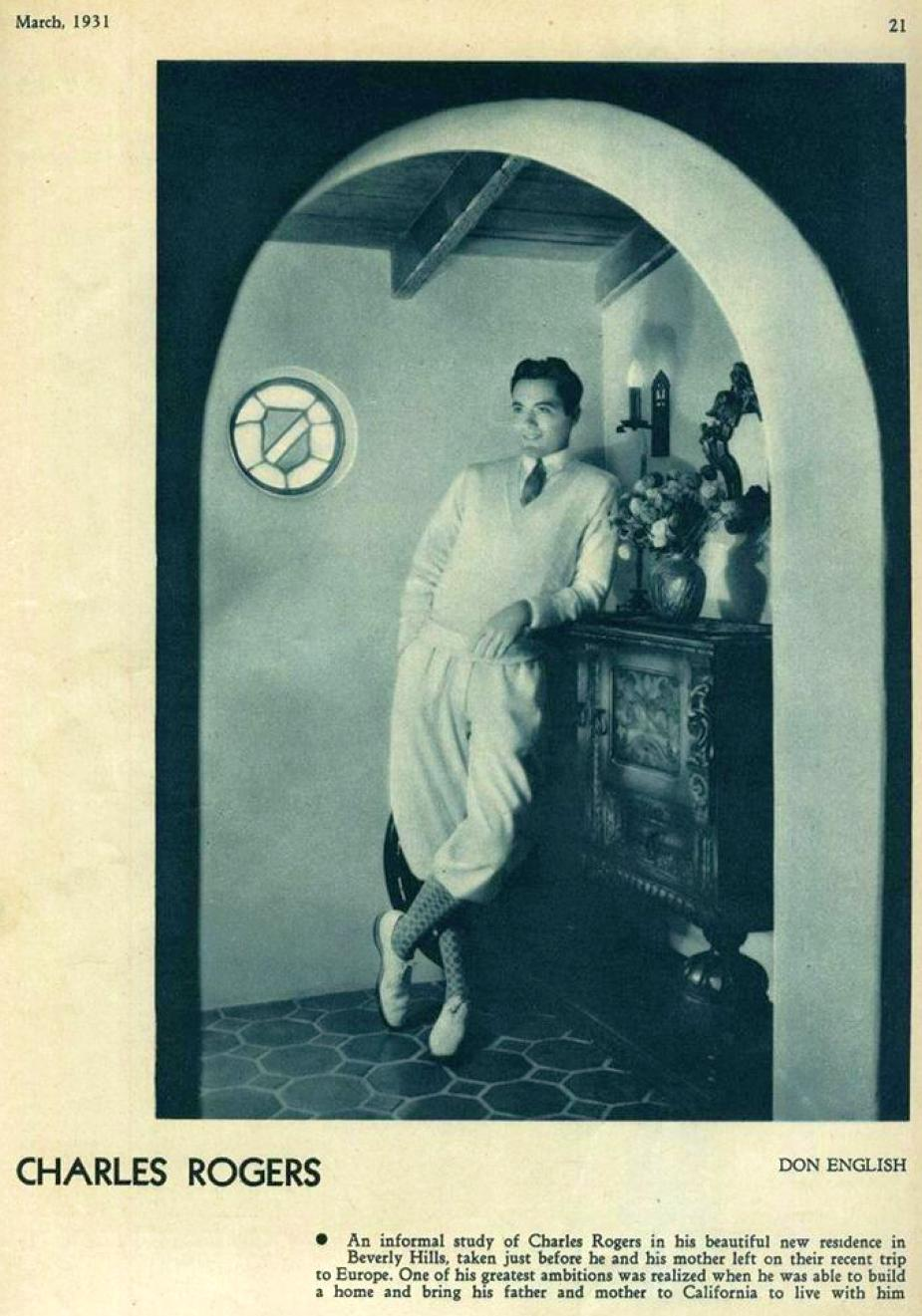 hollywood march 1931da