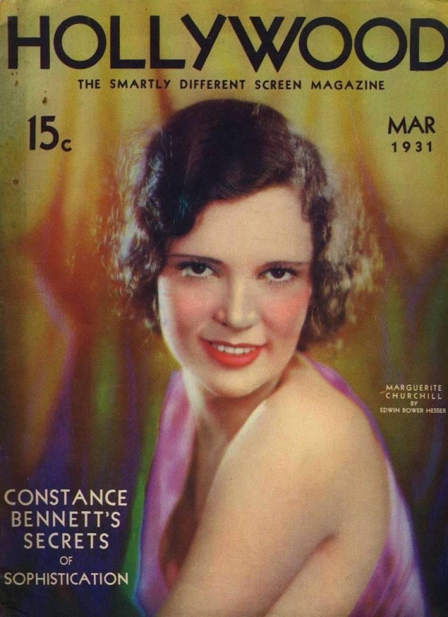 hollywood march 1931a cover