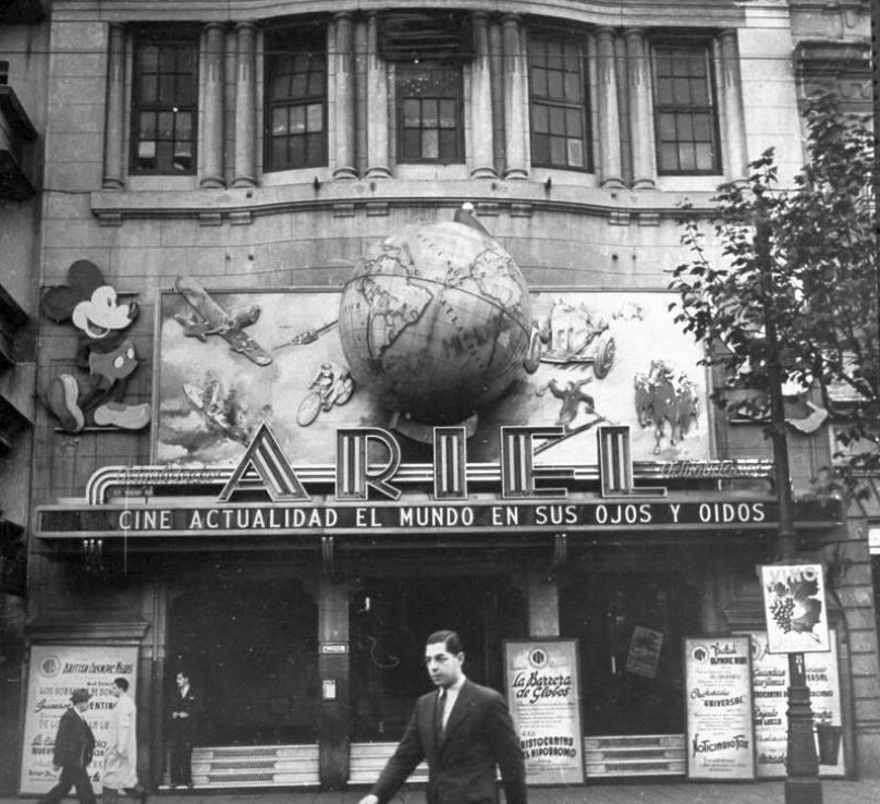cine ariel montevideo uruguay 1941a