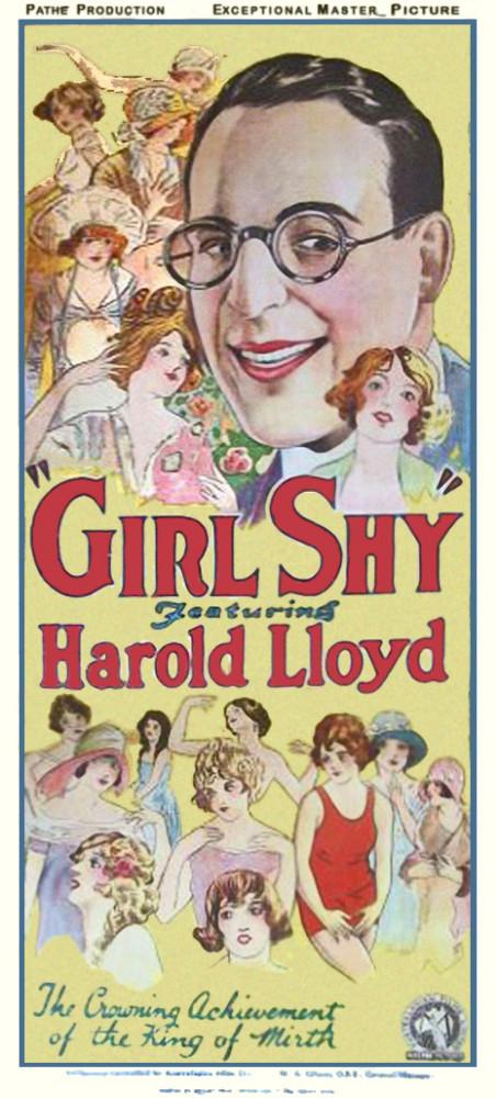harold lloyd girl shy poster 00