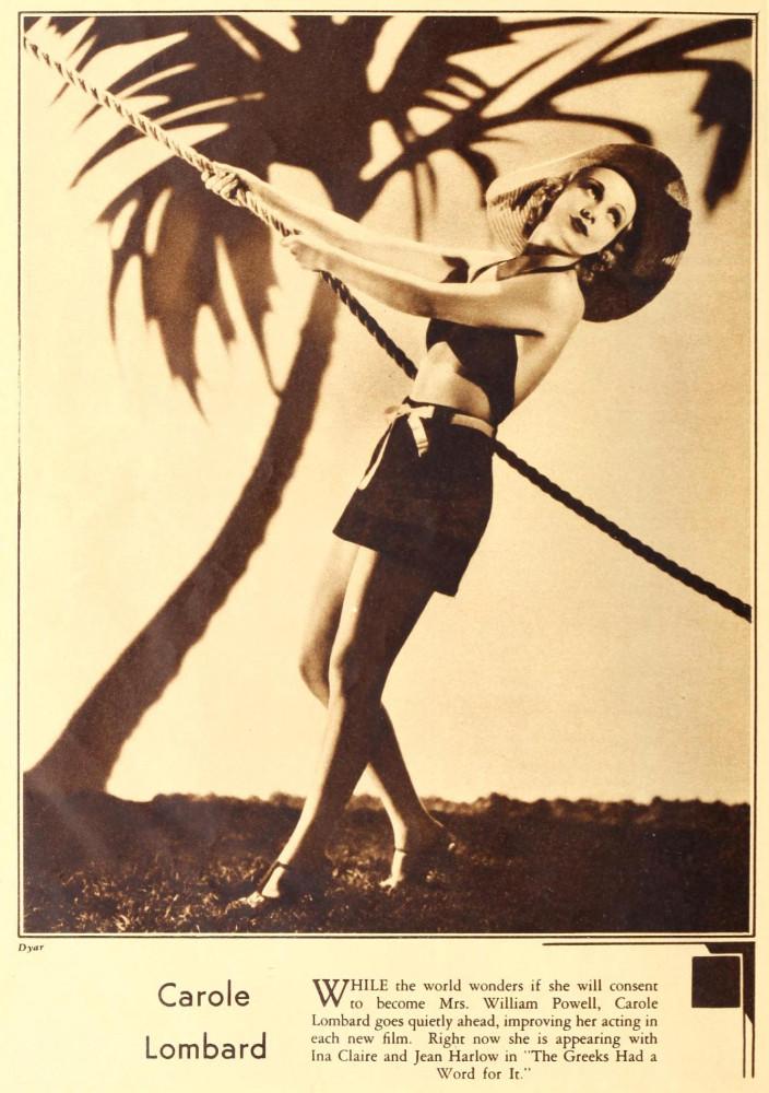 carole lombard screenland august 1931aa