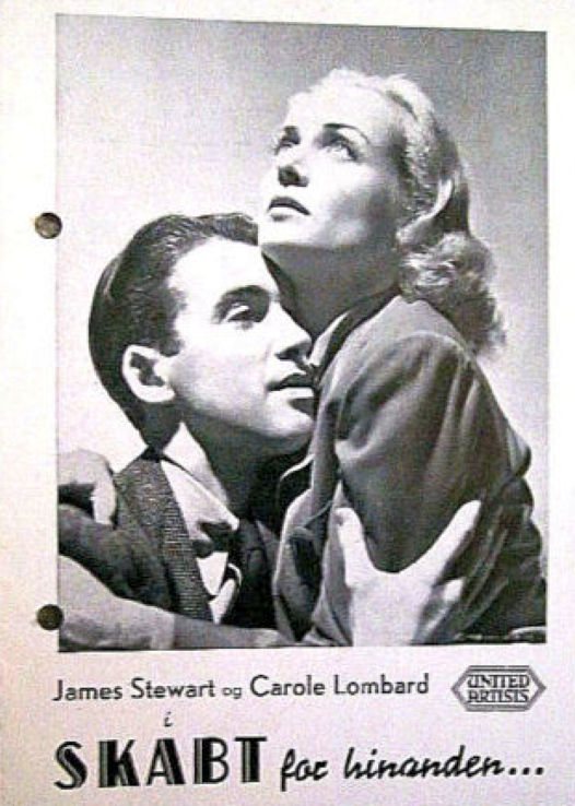 carole lombard made for each other danish novel program 00b