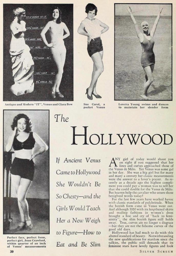 carole lombard silver screen february 1931da
