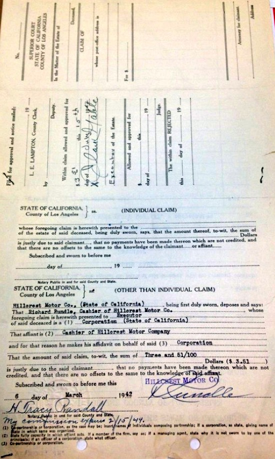 carole lombard clark gable 1942 estate document 03