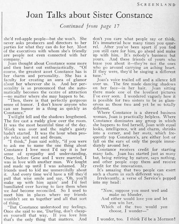 joan bennett screenland june 1933ca