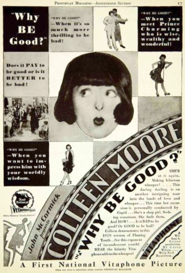 colleen moore why be good ad 00a