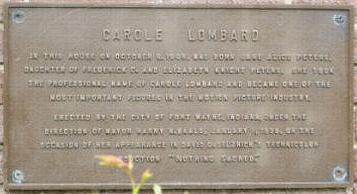 carole lombard house plaque 00a