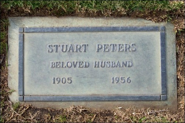 carole lombard forest lawn stuart peters
