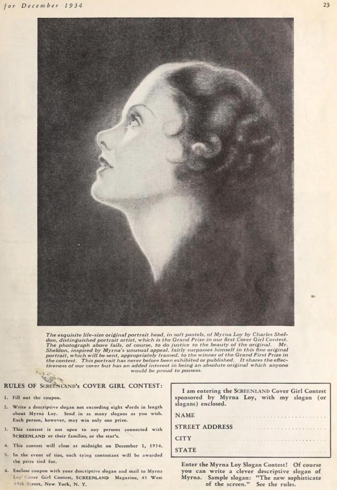 myrna loy screenland december 1934ba