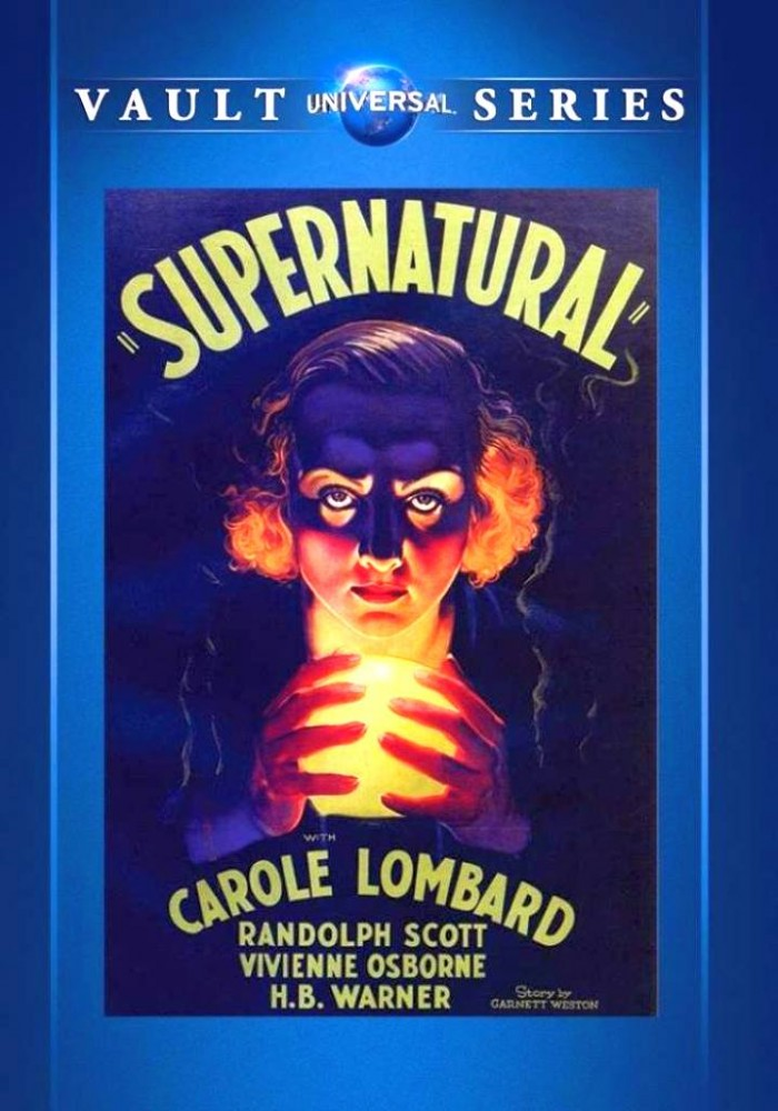 carole lombard supernatural dvd cover large