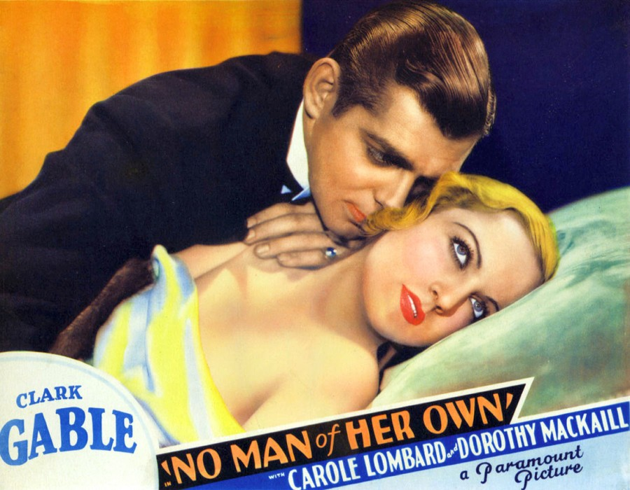 carole lombard no man of her own lobby card 01a