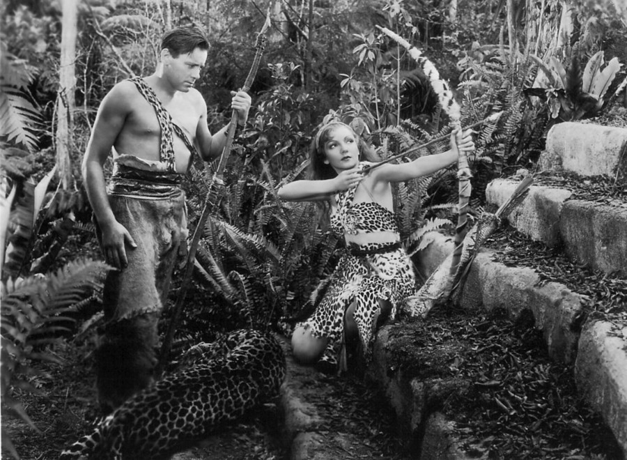 claudette colbert four frightened people 01