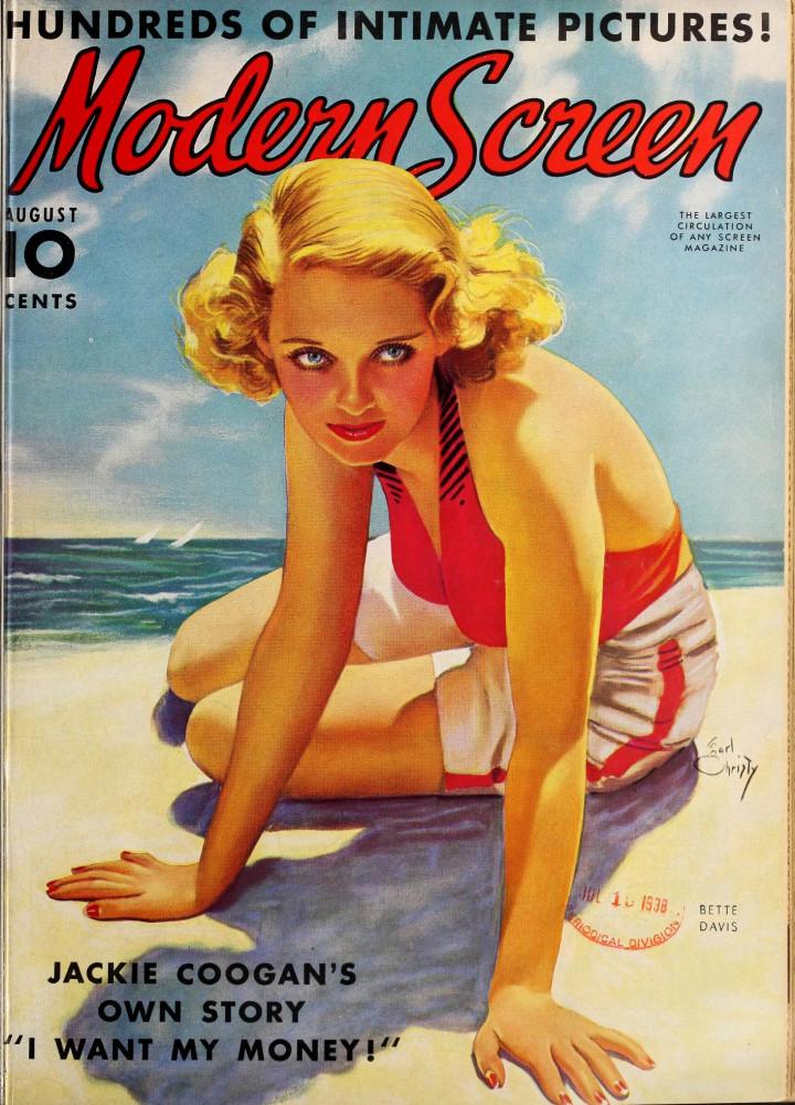 modern screen august 1938 cover