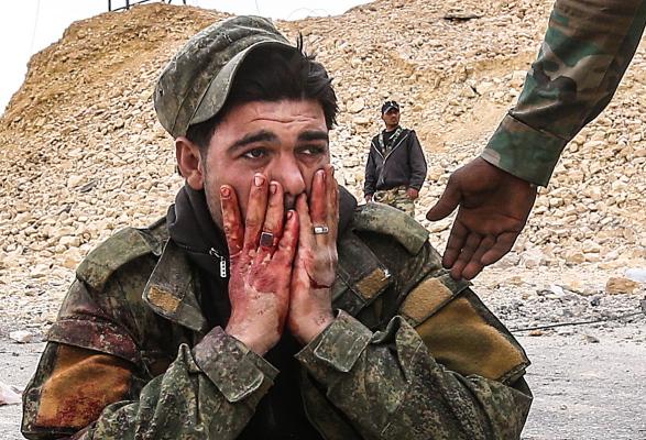 Фото Раненый Солдат