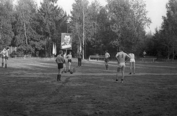 Футбольный матч в пионерском лагере 1964г. - 1922 - 1991 ...