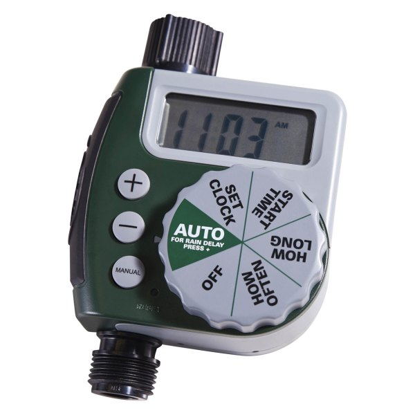 orbit 62061n 3 4 f npt x 3 4 m npt single zone watering timer with electronic