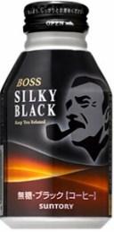 """""""【缶コーヒー】サントリー BOSS《ボス》 シルキーブラック 300g ボトル缶 1ケース《24本入》"""""""