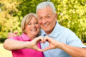 two older people maintaining a heart healthy lifestyle
