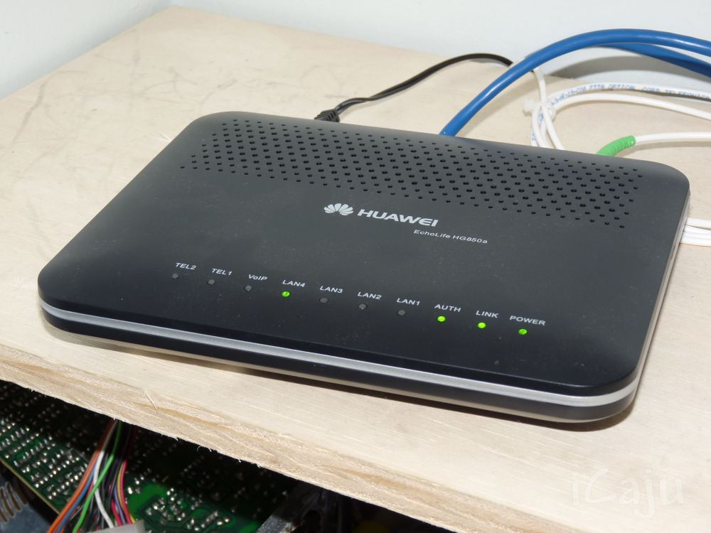 Review: Speedy via fibra ótica (3/6)