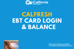 """How to Check CalFresh EBT Balance"""