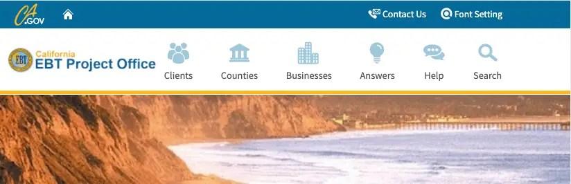 """""""California EBT Card Customer Service"""""""