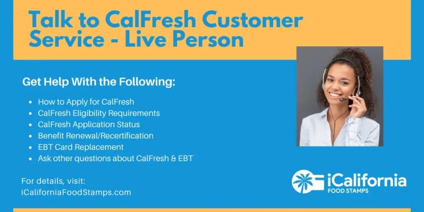 """""""CalFresh Customer Service"""""""