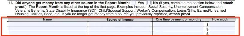 """""""SA7 Form - Other Income"""""""