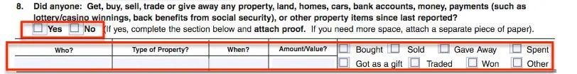 """""""SA7 Form - Property"""""""