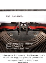 David Lawrey & Jaki Middleton - The Message