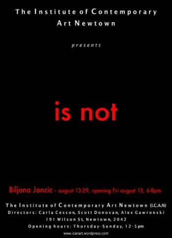 Biljana Jancic - Is Not
