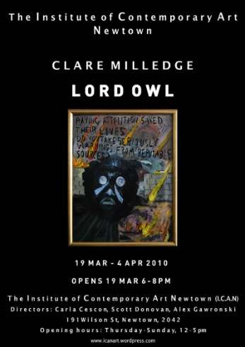 Clare Milledge - Lord Owl