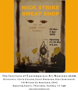 Nick Strike - Sweat Shop