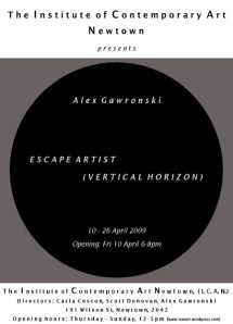 Alex Gawronski - Escape Artist (Vertical Horizon)