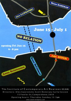 Alex Gawronski, Shane Haseman, Anna Kristensen, Bruce McCalmont and John Spiteri - No Relation