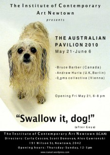 Bruce Barber, Andrew Hurle and 0_gmscollective - Swallow It, Dog!