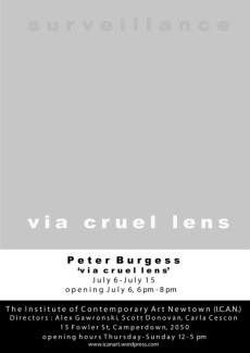 Peter Burgess - Via Cruel Lens