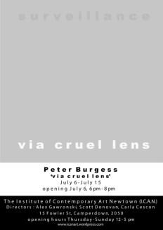 Peter Burgess - Via Cruel Lens