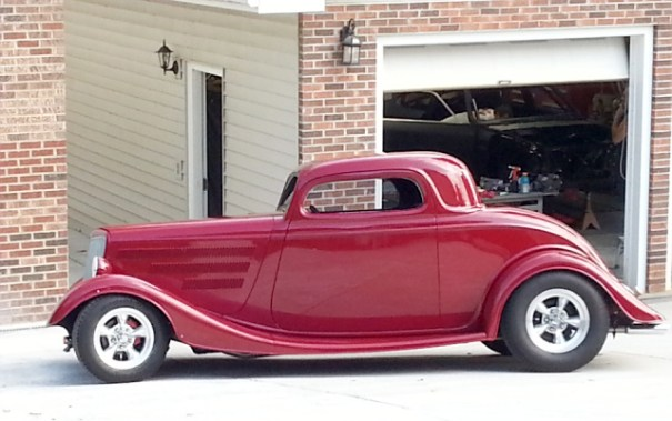 1934 Ford coup came for a visit