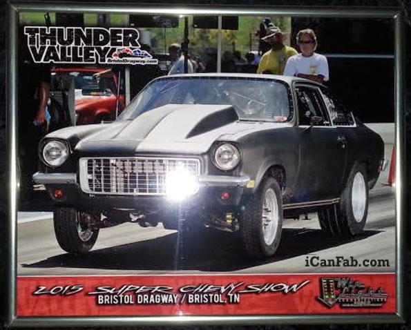 Chevy Vega making waves at Super Chevy
